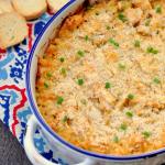 Cheesy Crab Artichoke Dip - TBT