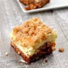 Gluten Free Carrot Cake Cheesecake Bars