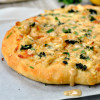 Amazing Creamy Crab Pizza