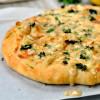 Amazing Creamy Crab Pizza