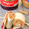 Strawberry PB&J Roll-Ups