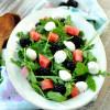 Melon Arugula Salad