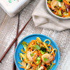 Shrimp Vegetable Noodle Chow Mein