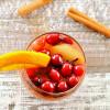 Crockpot Cranberry Apple Bourbon Punch