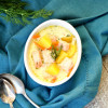 Crock-Pot® Salmon Potato Soup and Meal Plan