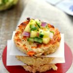 Hawaiian Tuna Cakes with Pineapple Habanero Salsa