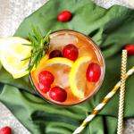 Cranberry Pimm's Cup