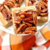 Gluten Free Pecan Pie Bars