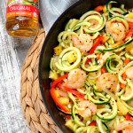 Easy Teriyaki Shrimp Vegetable Noodles