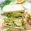 Green Goddess Vegetable Sandwich