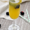 Pineapple Blackberry Mimosa