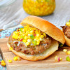 Southwest Turkey Burgers with Mexican Corn Relish
