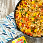 Coconut Mango Chicken Skillet