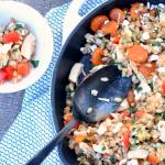 Balsamic Chicken Vegetable Skillet