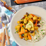 Slow Cooker Moroccan Spiced Pork Stew