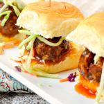 Hawaiian Meatball Sliders