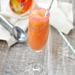 Rainbow Sherbert Mimosa Recipe