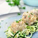 Garlic Butter Chicken Meatballs