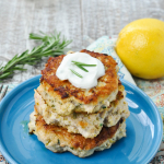Rosemary Lemon Paleo Chicken Burgers