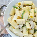 Rigatoni with Mustard Cream Sauce