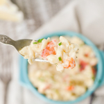 Cheesy Lobster Orzo