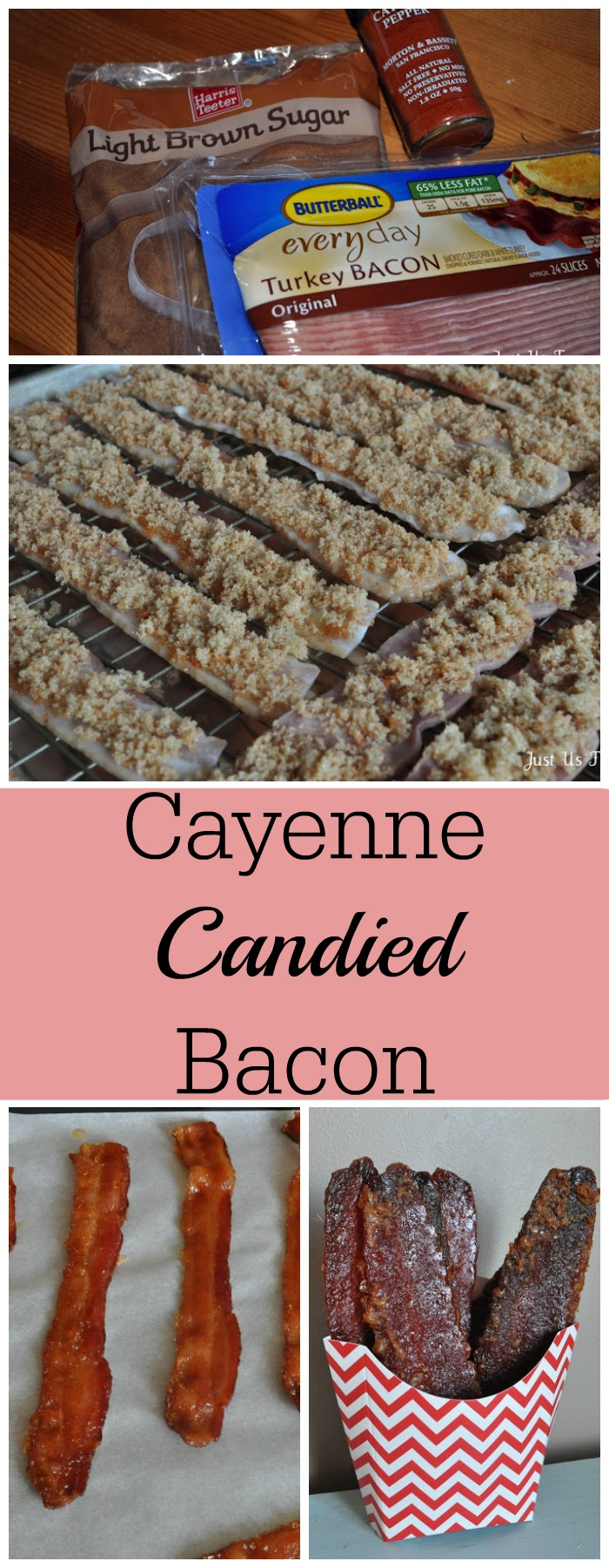 Cayenne Candied Bacon is the BEST snack or appetizer for your party.