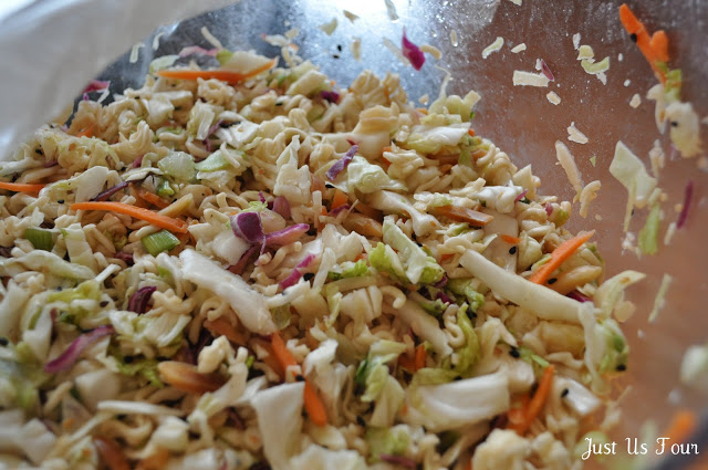 Asian Slaw Salad #salad #recipes #asian