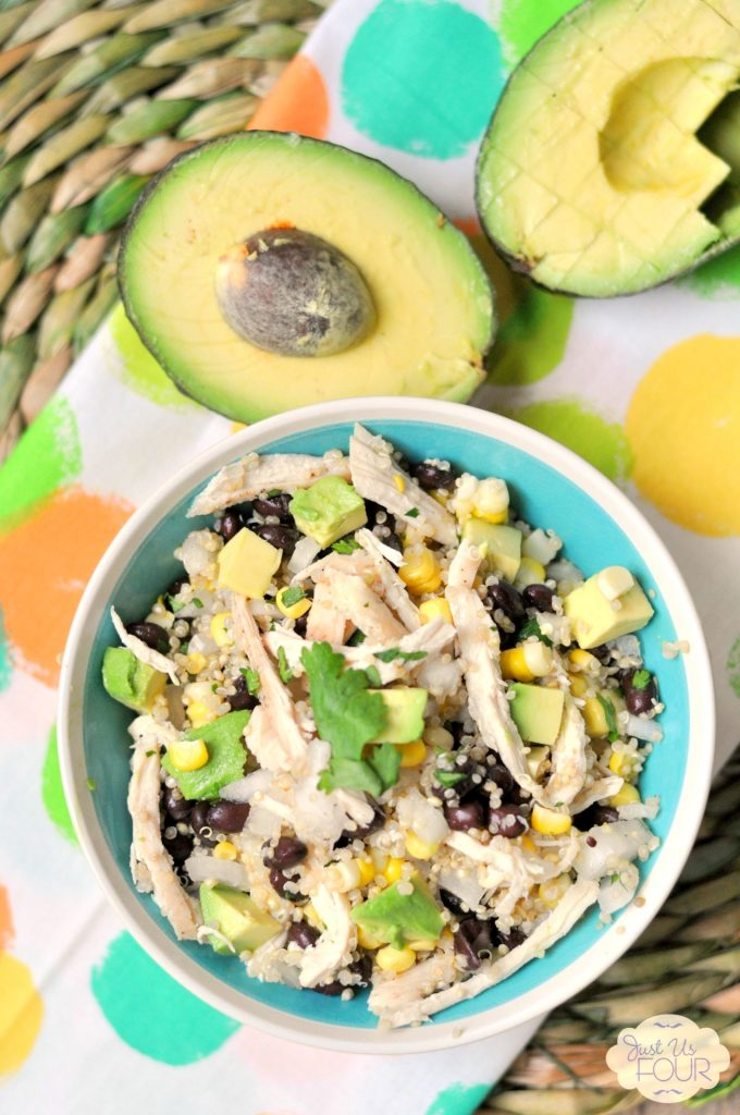 Chicken and Avocado Quinoa Salad - My Suburban Kitchen