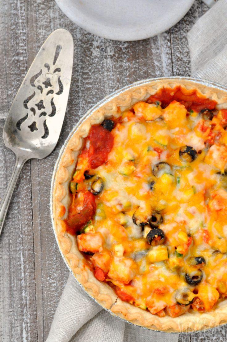 Mexican Leftover Turkey Pie Recipe
