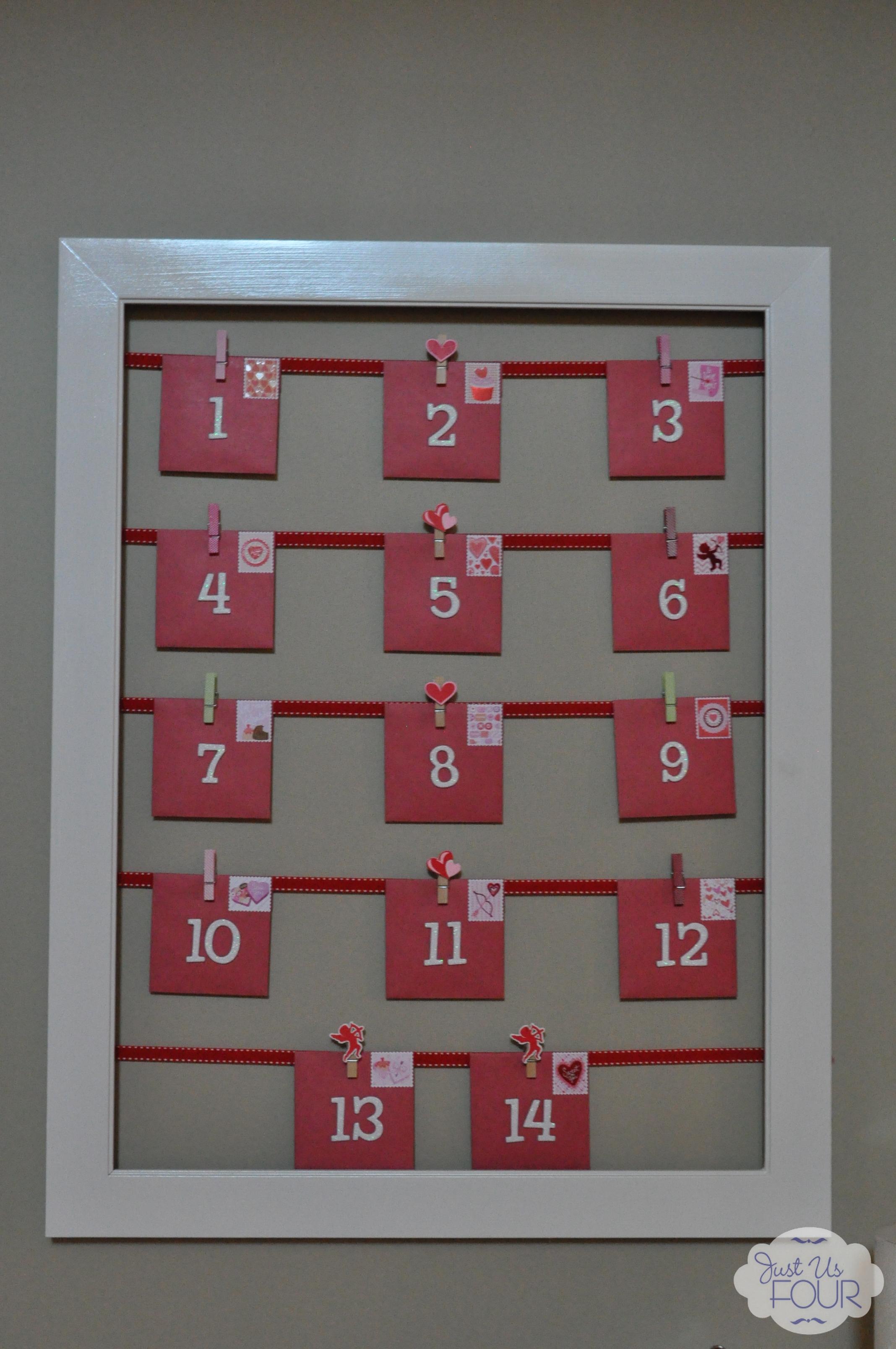 Valentine Calendar Ideas : Countdown to valentine s day my suburban kitchen