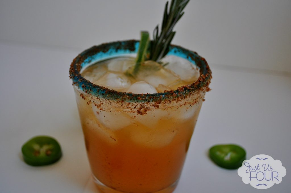 Passion Fruit Margarita with Jalapeno Tequila