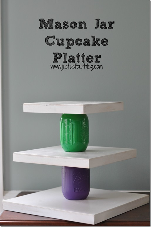 3 Tier Cupcake Platter with Label