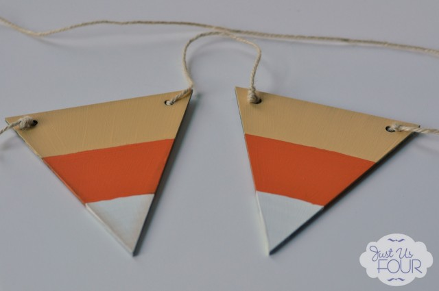 Candy Corn Pennant Banner_wm