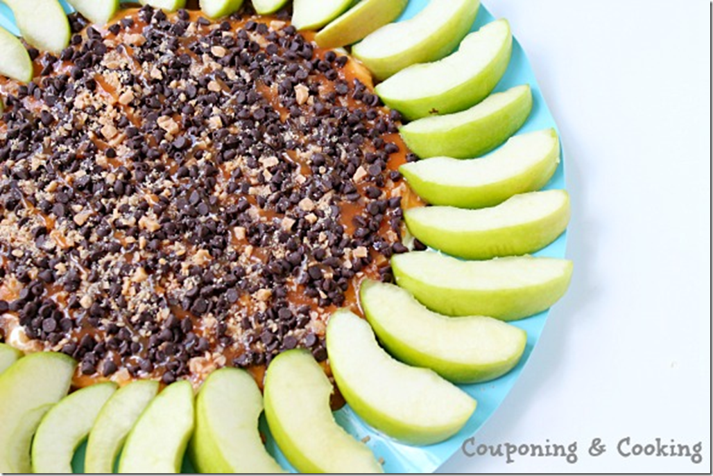 Couponing and Cooking - Caramel Apple Cheesecake Dip