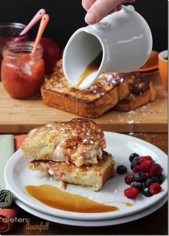 Dieters Downfall - Stuffed French Toast