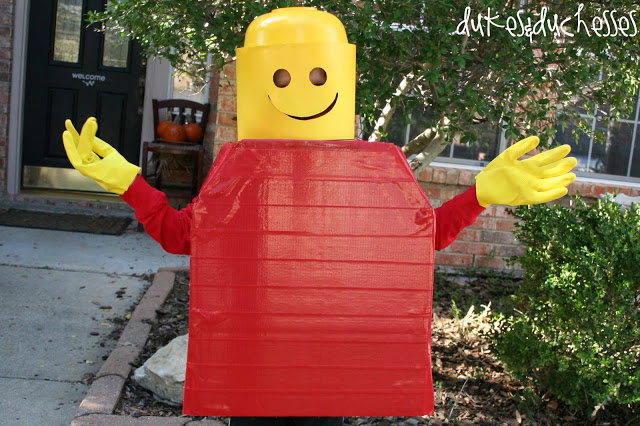 Dukes and Duchesses - Colorful Lego Man Costume