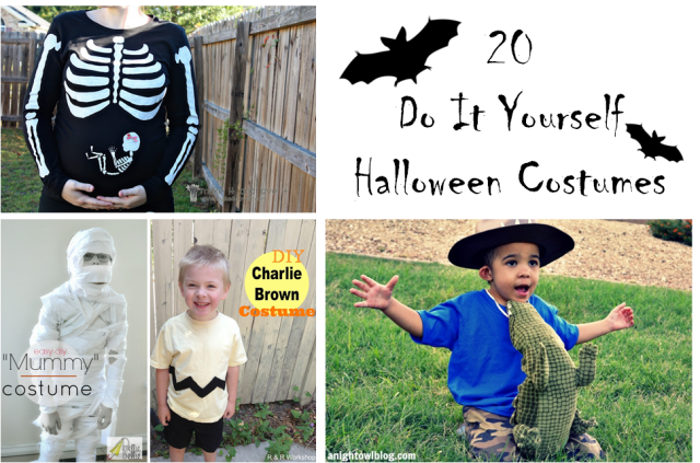 Halloween Costume Collage