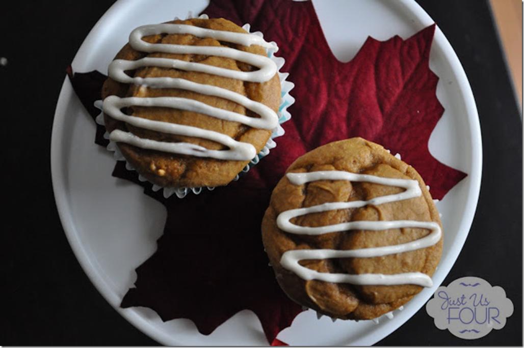 Just Us Four - Pumpkin Muffins
