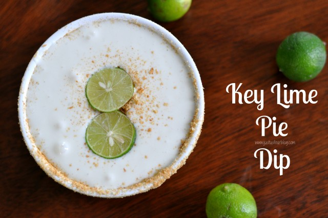 Key Lime Pie Dip with Label