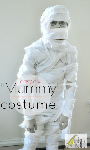 Nellie Bellie - DIY Mummy Costume