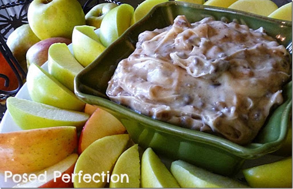 Posed Perfection - Autumn Apple Brickle Dip