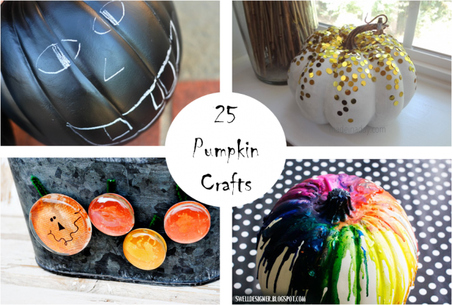 Pumpkin Crafts Collage