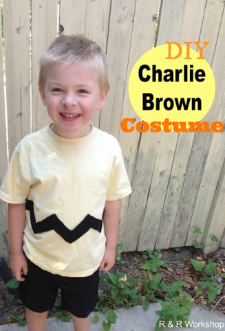 R and R Workshop - DIY Charlie Brown Costume