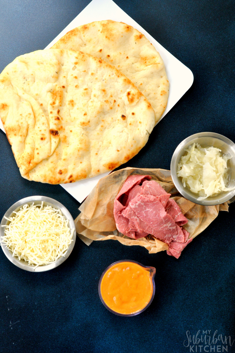 Reuben Pizza Ingredients