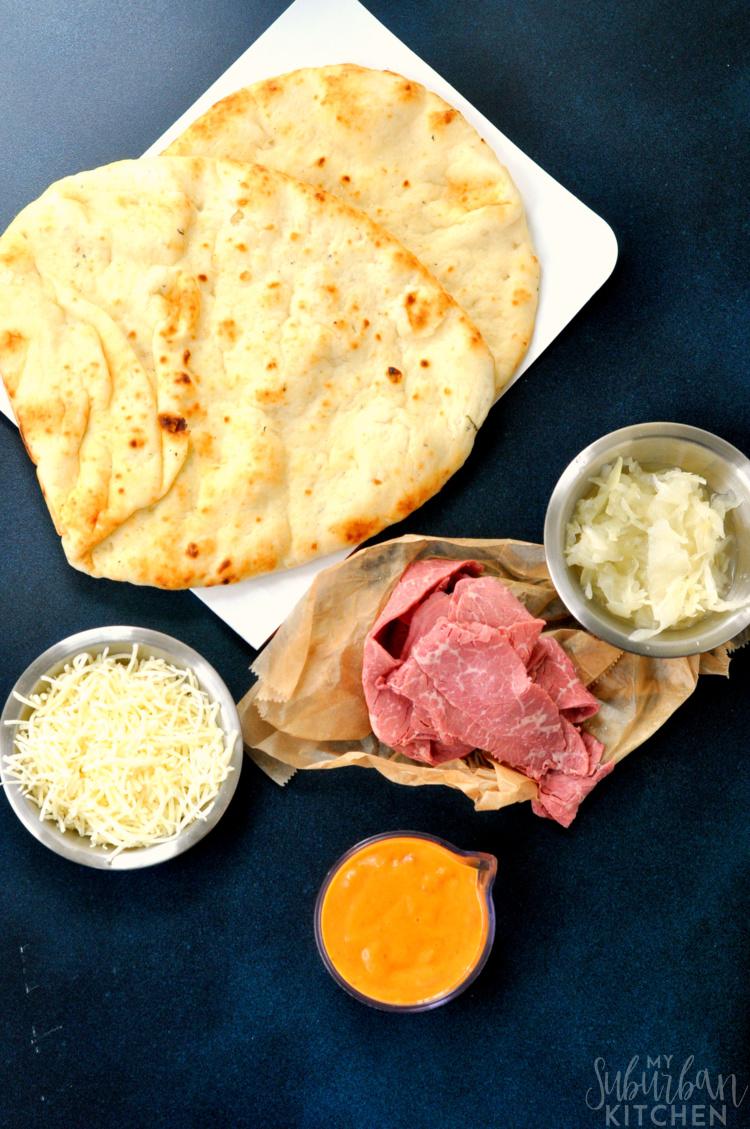 Reuben Pizza Ingredients