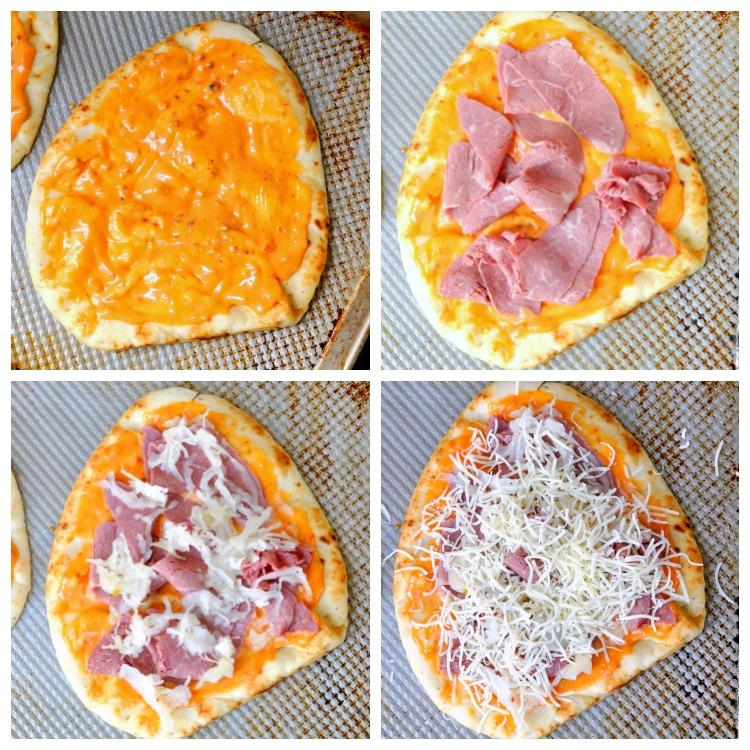 How to Make a Reuben Pizza