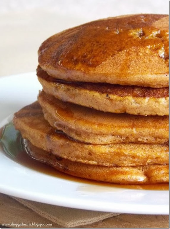 Shop Girl Maria - Pumpkin Spice Cake Mix Pancakes
