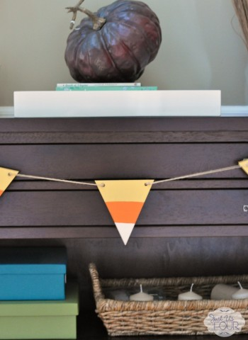Single Candy Corn Pennant Banner_wm