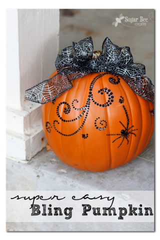 Sugar Bee Crafts - Bling Pumpkins