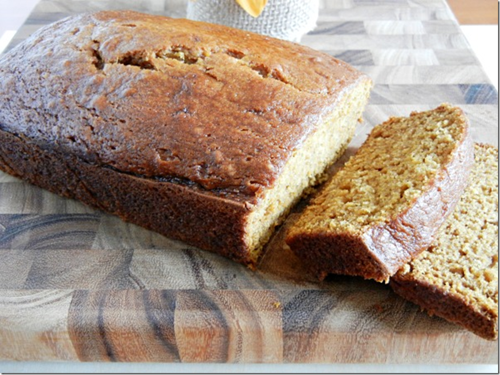 The Tasty Fork - Pumpkin Pie Quick Bread